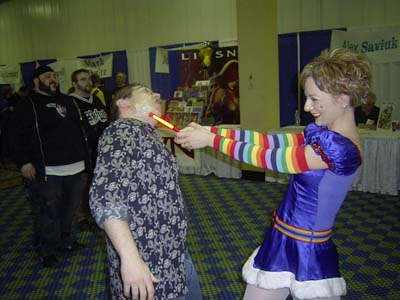 Rainbow Brite later worked porn conventions