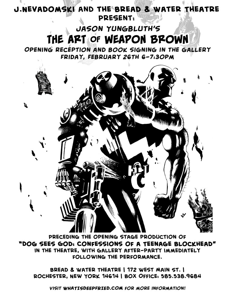 Weapon Brown Gallery Show
