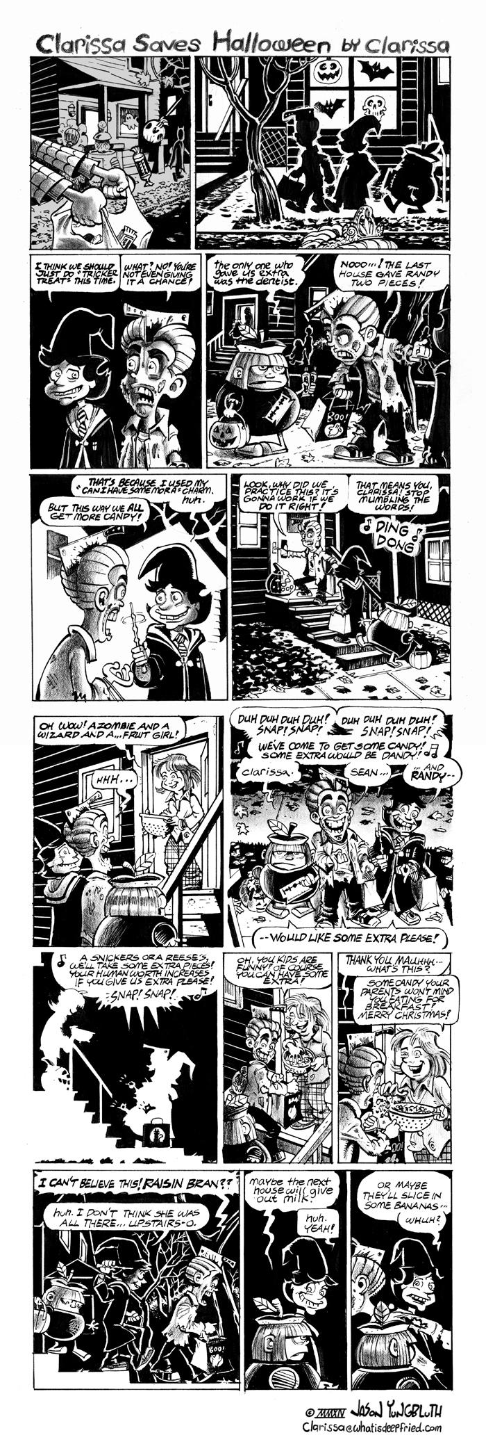 Clarissa Saves Halloween-Part 1