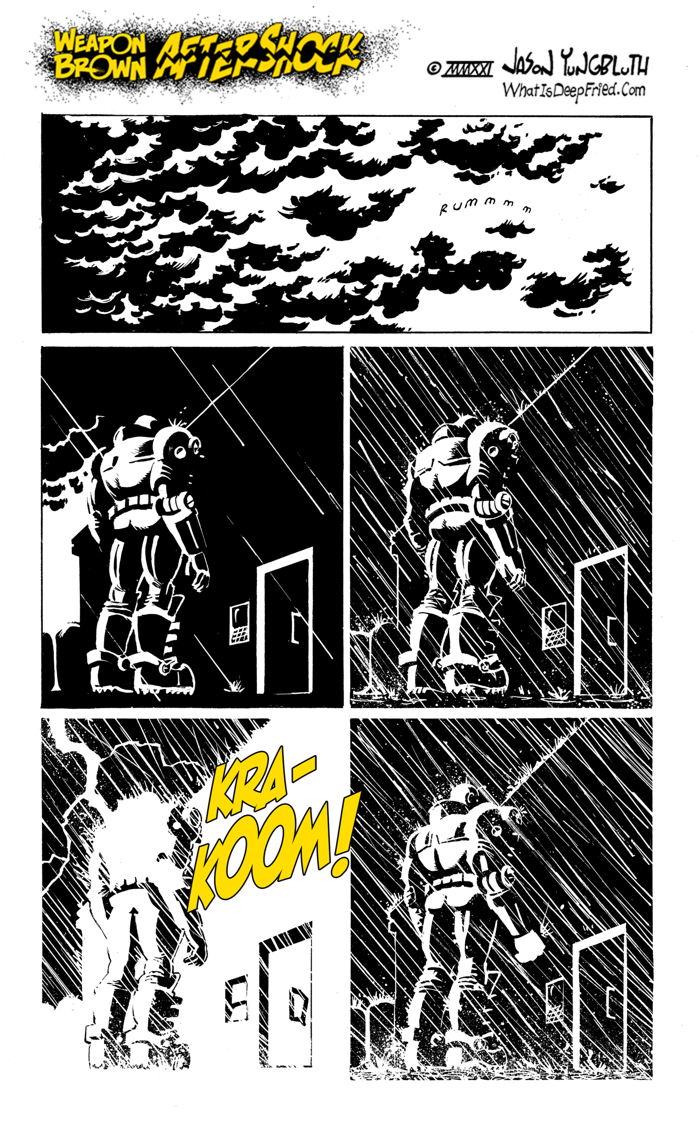 """New power unlocked! """"Shoulder Lightning""""!"""